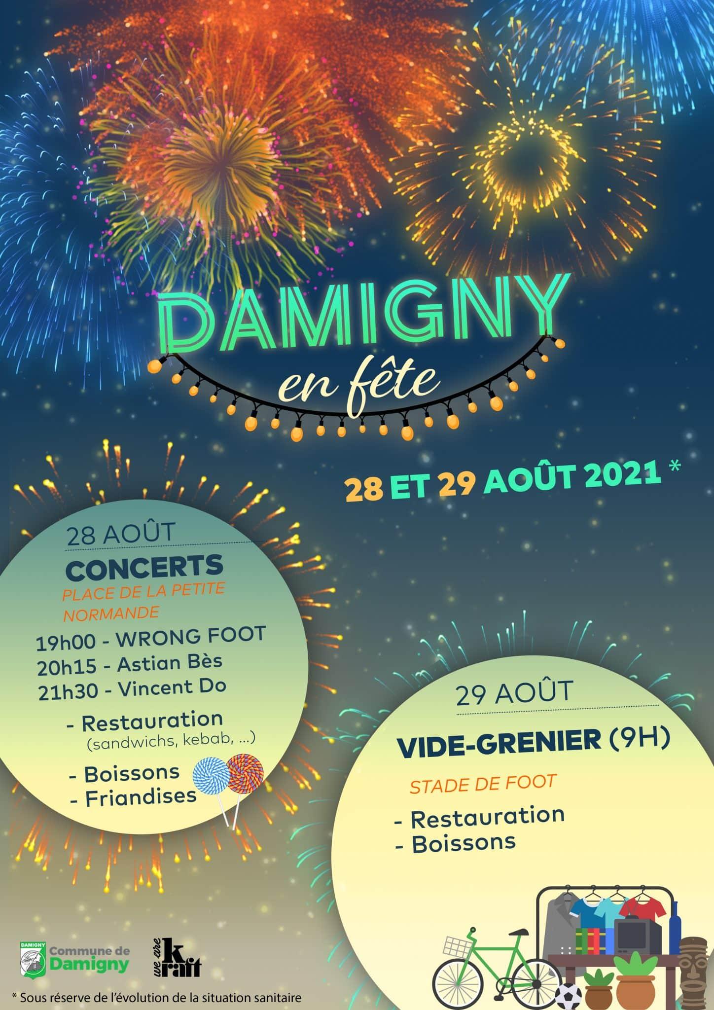 Damigny en fête